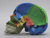 Color-Coded Human Sagittal Cut Half Skull