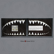 Great White Shark Teeth First Row (Replica)