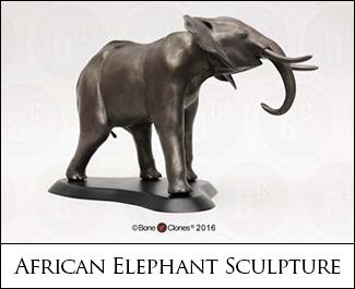 African Elephant Sculpture